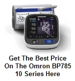 Omron BP785 10 Series Blood Pressure Monitor